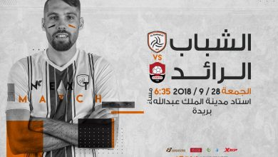 Photo of موعد مباراة الرائد ضد الشباب الجولة الرابعة في الدوري السعودي 2018