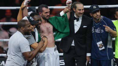 Photo of صور فوز الملاكم السعودي عبدالفتاح جليدان في النزال الثاني