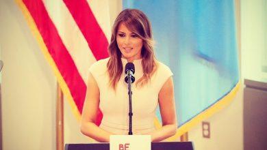 صورة زوجة الرئيس الأمريكي ميلانيا تزور مصر  وكينيا بمفردها