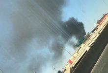 صورة فيديو حريق في محول محطات الكهرباء بالرياض اليوم الإثنين