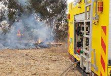صورة 11 حريقاً بسبب البالونات الحارقة في كيبوتس بئيري