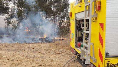 Photo of 11 حريقاً بسبب البالونات الحارقة في كيبوتس بئيري
