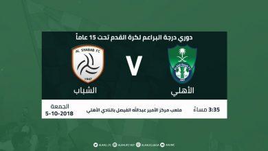 Photo of نتيجة أهداف مباراة الأهلي ضد الفيصلي في الدوري السعودي 2018