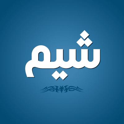 التعرف على معنى وصفات كلمة شيم