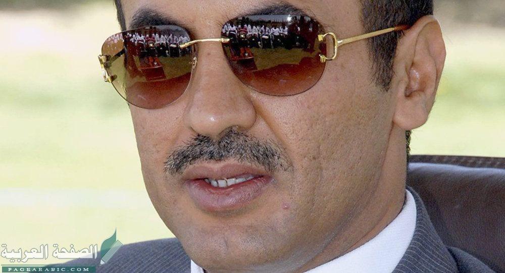 Photo of احمد علي عبدالله صالح حول ولادة نجلة ووالده