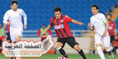 صورة مباراة الرائد والباطن في الدوري السعودي
