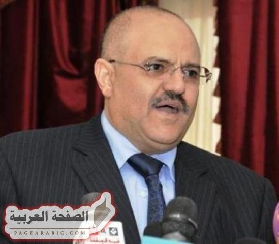 صورة نبيل شمسان محافظ تعز يصل لأول مرة اخبار اليمن اليوم