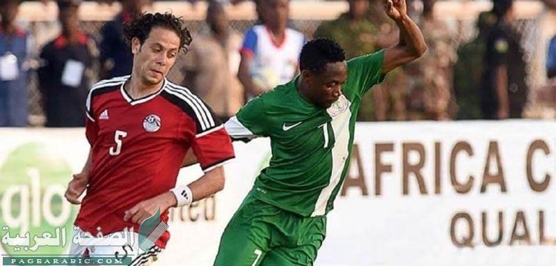 نتيجة مباراة مصر ونيجيريا في المباراة الودية اليوم