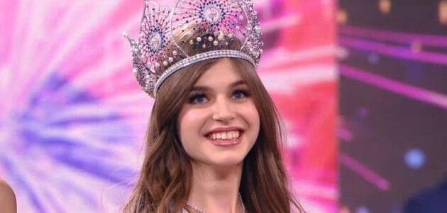 الينا سانكو ملكة جمال روسيا 2019 تحصد اللقب بصعوبة