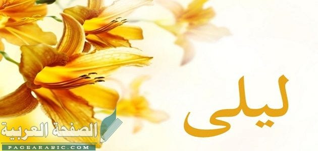 Photo of معنى اسم ليلى وصفات اسم ليلى مزخرف