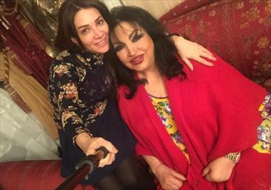 ديانا حداد تنفي خبر وفاة سميرة توفيق - الصفحة العربية