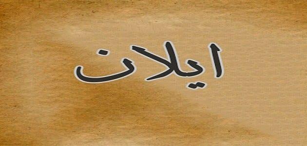 Photo of معنى اسم ايلان وصفات حاملة الاسم