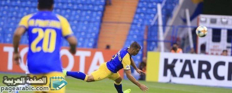 صورة مشاهدة نتيجة مباراة النصر والوحدة اهداف يلا شوت الوحدة ضد النصر