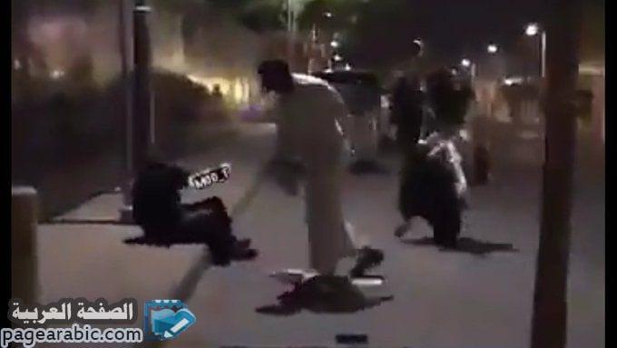 صورة فيديو رجل يعتدي على بنت