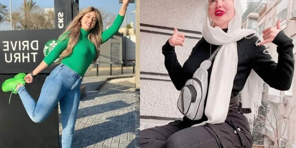 صور حنين حسام وكذلك مودة الأدهم 2020 مشهورات حساب تيك توك ...