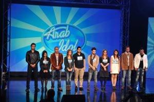 Photo of المجموعة الاولى عرب ايدول 5-4-2013