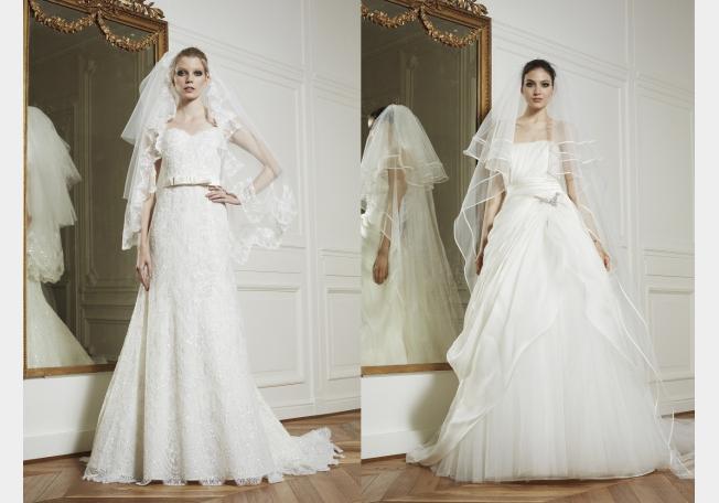 فساتين زفاف 2013 ايلي صعب باللون الابيض