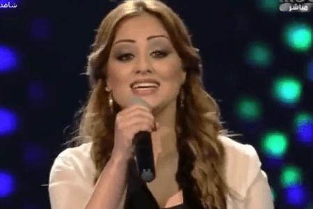 المتسابقة برواس حسين من كوردستان العراق في عرب ايدول اغنية قدك المياس