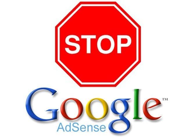 صورة تعطيل عرض الإعلانات في موقعك و طرق الحل بالصور لـ طلب الإعتراض أدسنس فك حظر ادسنس