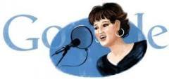 """""""غوغل"""" يحتفي بذكرى ميلاد وردة الجزائرية"""
