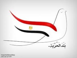 صور علم مصر متحركة 2020- علم مصر على الوجوه