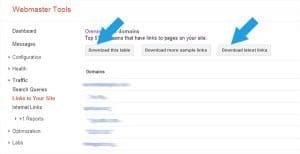 google-webmaster-download-linking-websites