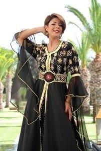 قفطان مغربي 2020 باقة من فساتين القفطان المغربي