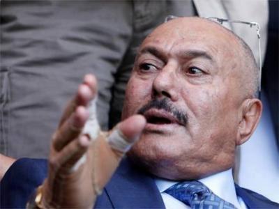 Photo of علي عبدالله صالح في محافظة ذمار أخبار اليمن 27-2-2016 صحافة نت