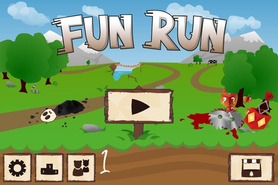 رابط تحميل لعبة fun run للايفون