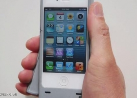 ابتكار طريقة جديدة ل شحن هاتف آيفون يدويا