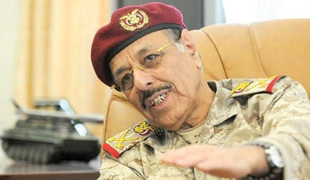 Photo of تصريحات الجنرال علي محسن الاحمر بانه على تواصل مع عبده ربه منصور من اول الثورة