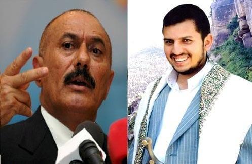 المخلوع علي عبدالله صالح يلتقي ب عبدالملك الحوثي والسعوديه تستدعي